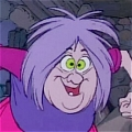 Mad Madam Mim Cosplay from The Sword in the Stone
