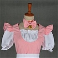 Maid Costume (Pink,Cat)