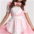 Maid Costume (Pink,Cat)