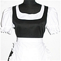 Maid Costume (Yuko Ogura,Black,Stock)