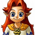 Malon Cosplay (Child Version) Desde Legend of Zelda