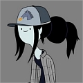 Marceline Cosplay De  Adventure Time