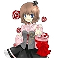 Maria Cosplay Costume from Umineko no Naku Koro ni