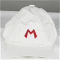 Mario Hat (White Sunbonnet) from Super Mario