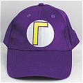 Mario Hat From Super Mario (Purple Sunbonnet)