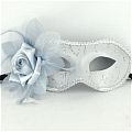 Masquerade Mask (White 05)
