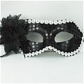 Masquerade Mask (Black Silver 01)
