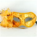 Masquerade Mask (Golden 01)