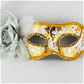 Masquerade Mask (Golden White 01-2)