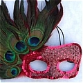 Masquerade Mask (Pink 02)