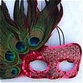 Masquerade Mask (Pink 02)