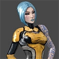 Maya Cosplay von Borderlands 2