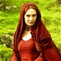 Melisandre Cosplay Desde Game of Thrones