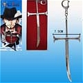 Mihawk Weapon Key Ring from One Piece