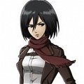 Mikasa Cosplay (The Wings of Counterattack) von Shingeki no Kyojin
