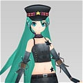 Miku Cosplay (Army Uniform) from Vocaloid
