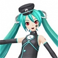 Miku Cosplay (Black) from Project DIVA F
