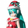 Miku Cosplay (Christmas) Da Project DIVA