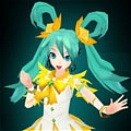 Miku Cosplay (Fairy) from Hatsune Miku Project DIVA