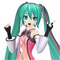 Miku Cosplay (Freely Tomorrow) von Project DIVA F