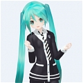 Miku Cosplay (Heart Beats) von Vocaloid