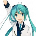 Miku Cosplay (Hello Laughter) from Vocaloid