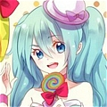 Miku Cosplay (Lolipop Factory) from Vocaloid