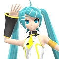 Miku Cosplay (Love Team) from Project DIVA F
