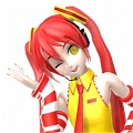 Miku Cosplay (McDonalds) from Vocaloid