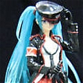 Miku Cosplay (Military Uniform) from Vocaloid