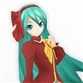 Miku Cosplay (Noble) von Project DIVA