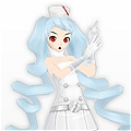 Miku Cosplay (Nurse) from Prject Diva