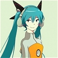 Miku Cosplay (Odds and Ends) von Vocaloid