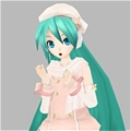 Miku Cosplay (Power) von Project DIVA