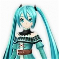 Miku Cosplay (Project DIVA F 2nd) from Vocaloid