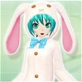Miku Cosplay (Rabbit) from Vocaloid
