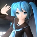 Miku Cosplay (Rolling Girl) from Hatsune Miku Project DIVA Extend