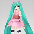 Miku Cosplay (Sakura Deluxe) from Vocaloid