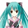 Miku Cosplay (Sakura,Kimono) De  Vocaloid