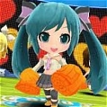 Miku Cosplay (Sing and Smile) von Project DIVA