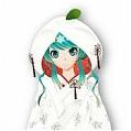 Miku Cosplay (Snow Kimono) from Vocaloid