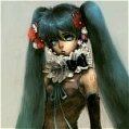 Miku Cosplay (Sound of Flower) von Vocaloid