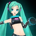 Miku Cosplay (Space Channel 39) from Hatsune Miku Project DIVA