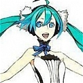 Miku Cosplay (The Seven Dragon) von Vocaloid