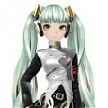 Miku Cosplay (Unhappy Refrain) von Vocaloid