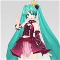 Miku Cosplay (Vintage Deluxe) from Project DIVA
