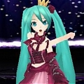 Miku Cosplay (Vintage Dress 2nd) Desde Project DIVA