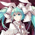 Miku Cosplay (Wedding Dress) from Vocaloid