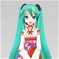 Miku Cosplay (Witch) from  Vocaloid