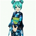 Miku Cosplay (Summer Yukata) Desde Project DIVA F